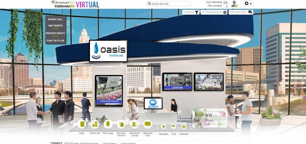 control dekk virtual booth